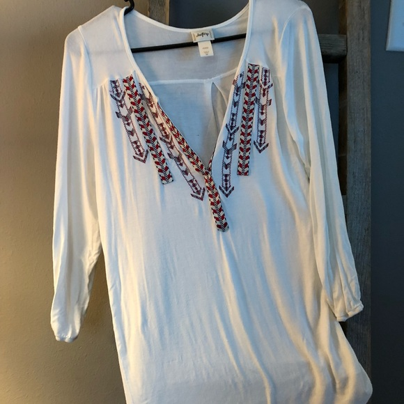 b93726927 Daytrip Tops | Day Trip White Blouse | Poshmark
